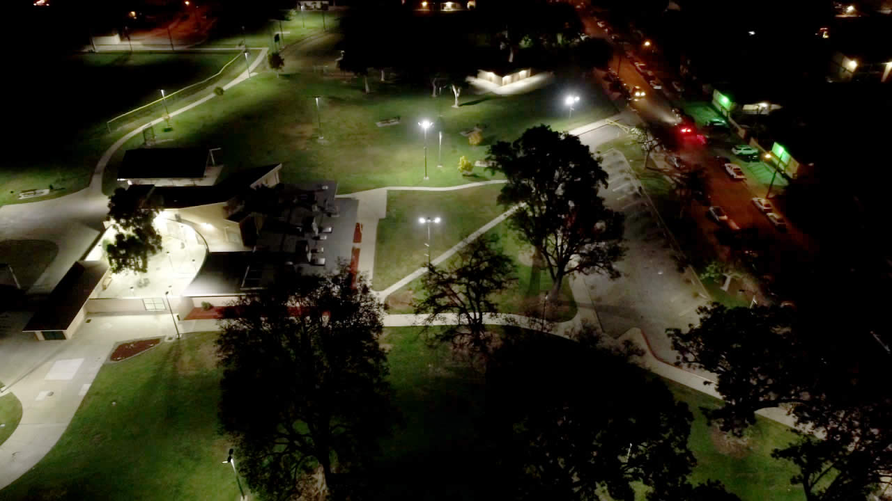 Mountain View Park LED lighting and wireless control project slide 2