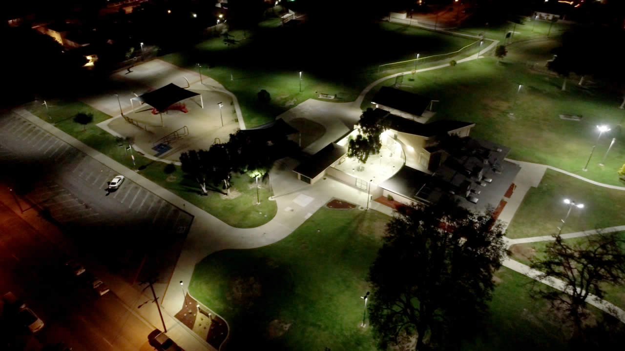 Mountain View Park LED lighting and wireless control project slide 4